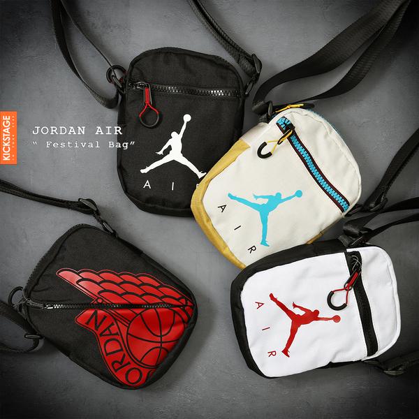 9d320230c02 KS▸AIR Jordan Wings Festival BAG 側背小包飛人LOGO 斜背黑白米白黑色翅膀| KICKSTAGE